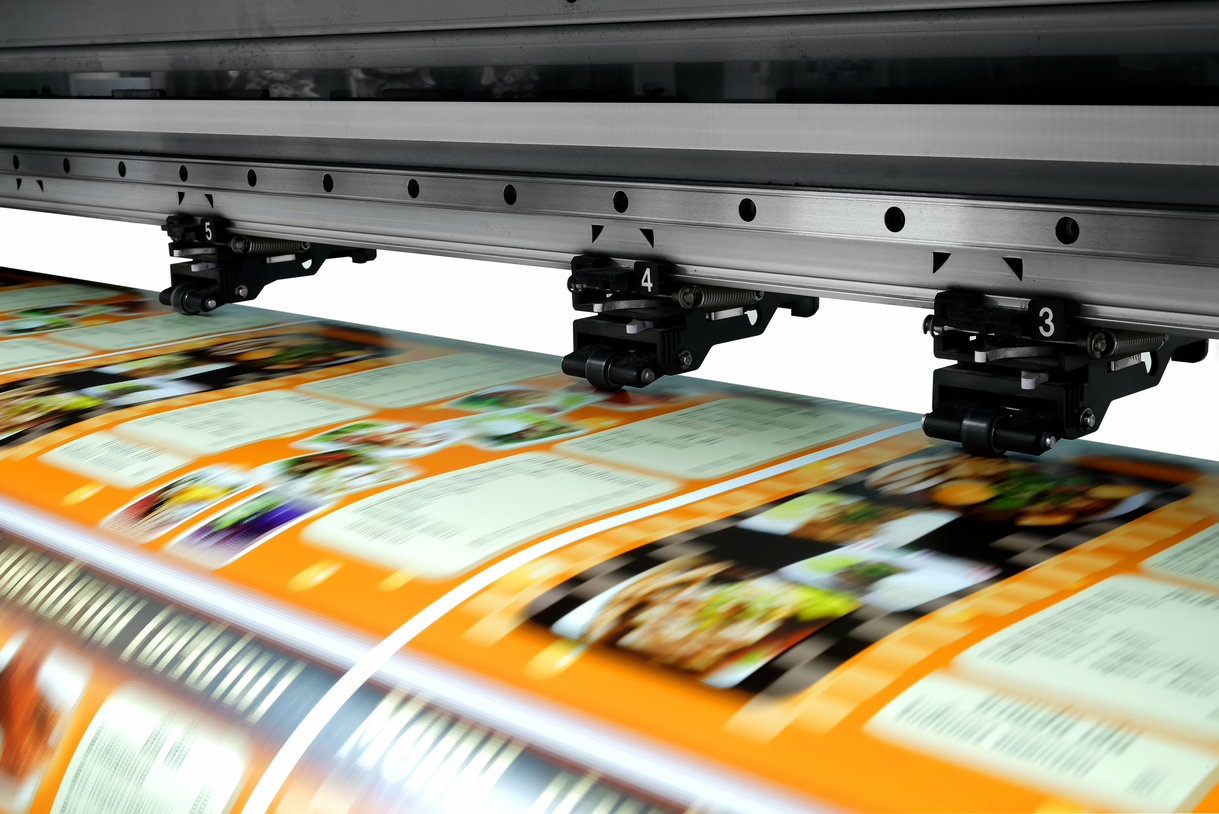 Printer printing graphics